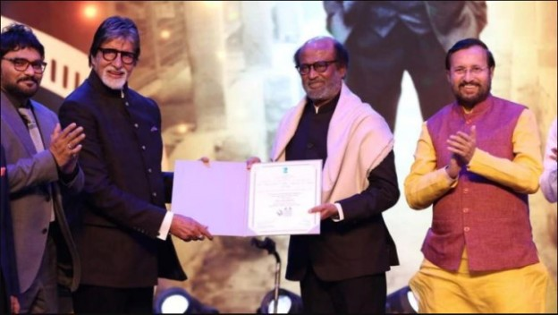 Amitabh Bachchan Speaks About his Relationship with Rajinikanth in IFFI 2019