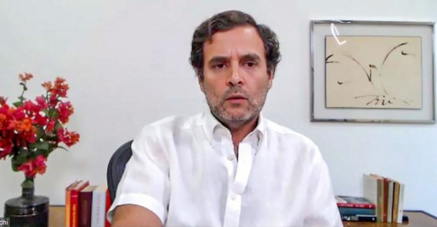 Rahul Gandhi attack on PM over Coronavirus Crisis says PM Modi surrendered Govt has no plan to fight COVID19